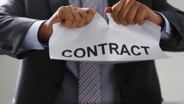 contract munca companii angajati
