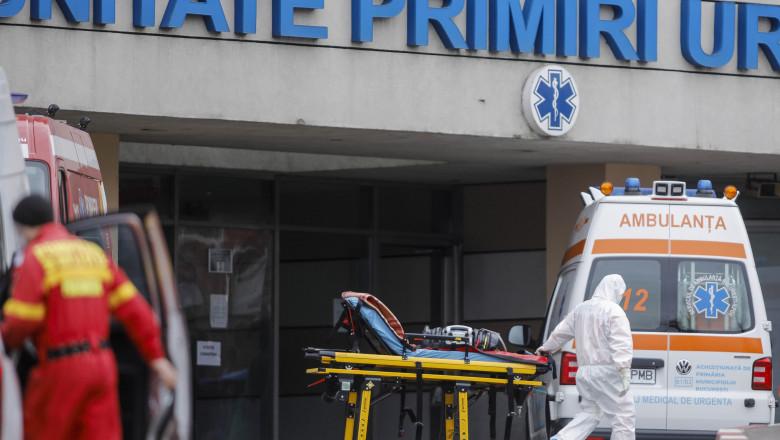 UPU unitate primiri urgente ambulanta spitalul sfantul ion bucuresti coronavirusIL_id135335_inquam_photos_george_calin