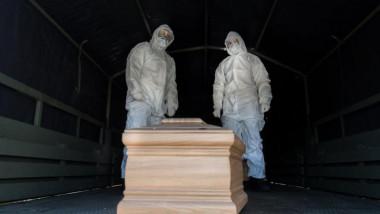 Scandal din cauza sicrielor pentru decedații de Covid, la Brașov