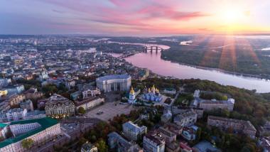 Imagine panoramică a Kievului