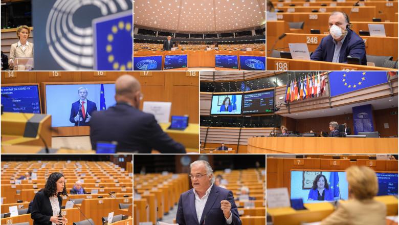parlamentul european pandemie - PE
