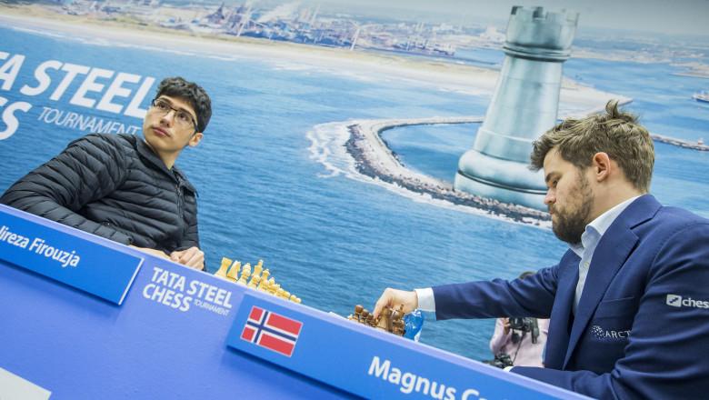 sah Alireza Firouzja Magnus Carlsenprofimedia-0493999855