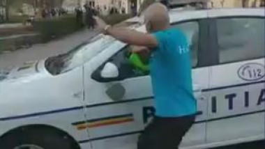 politia incidente hunedoara