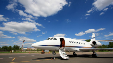 Falcon Business Jet Ready to Go