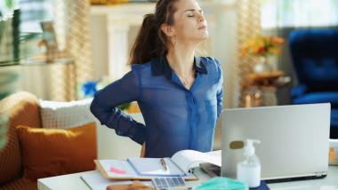 GettyImages-dureri de spate la birou