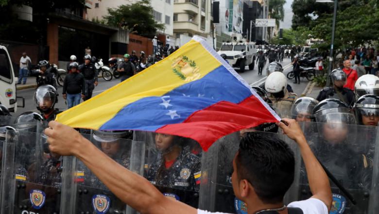 Anti-Maduro Demonstration in Caracas