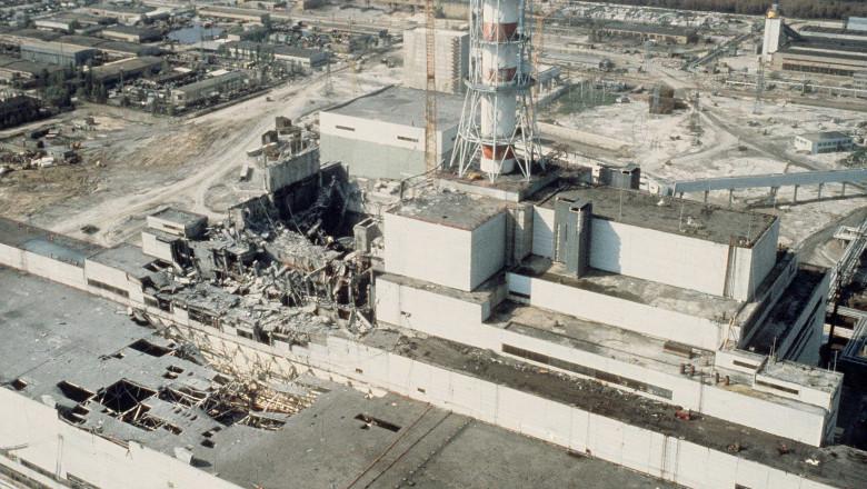 Chernobyl accident April 25-26 1986 - Tchernobyl nuclear power station