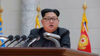 Kim Jong-un sustine o conferinta de presa la Phenian, in Coreea de Nord