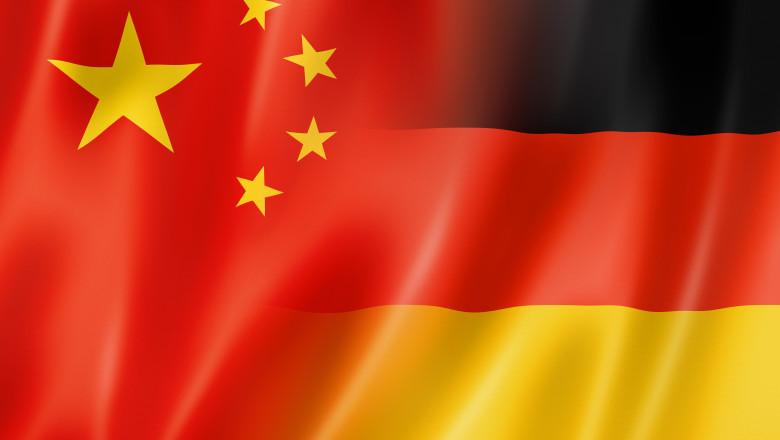 China and Germany flag