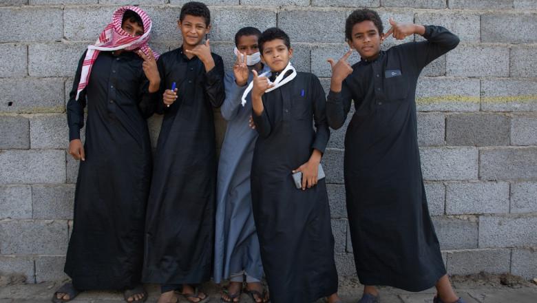 copii arabia saudita