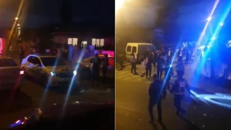 incident violent, politie rahova