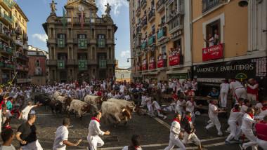 Festivalul San Fermin din Spania