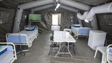 spital militar de campanie mapn 20200328 Vizita Presedinte ROL2_Laurentiu Turoi (31)