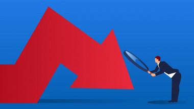 scădere economie grafica