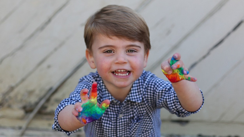 Prince Louis' second birthday, UK - 22 Apr 2020