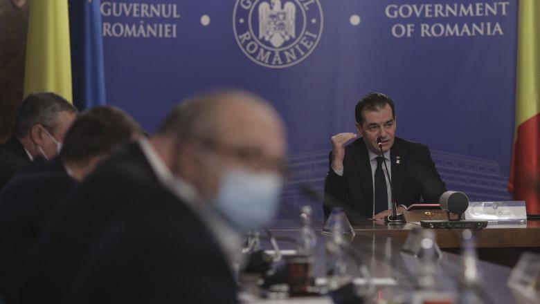 sedinta de guvern ludovic orban ministri INQUAM_Sedinta_Guv_16_Octav_Ganea