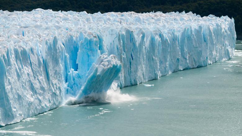 gheata topita calota glaciara