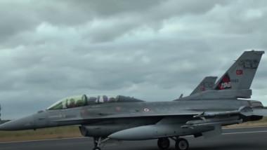 avioane de vanatoare f-16 turcia