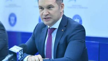 Ministrul Sportului, Ionuț Stroe. fb