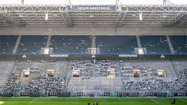 GettyImages stadion borussia fotbal germania pandemie