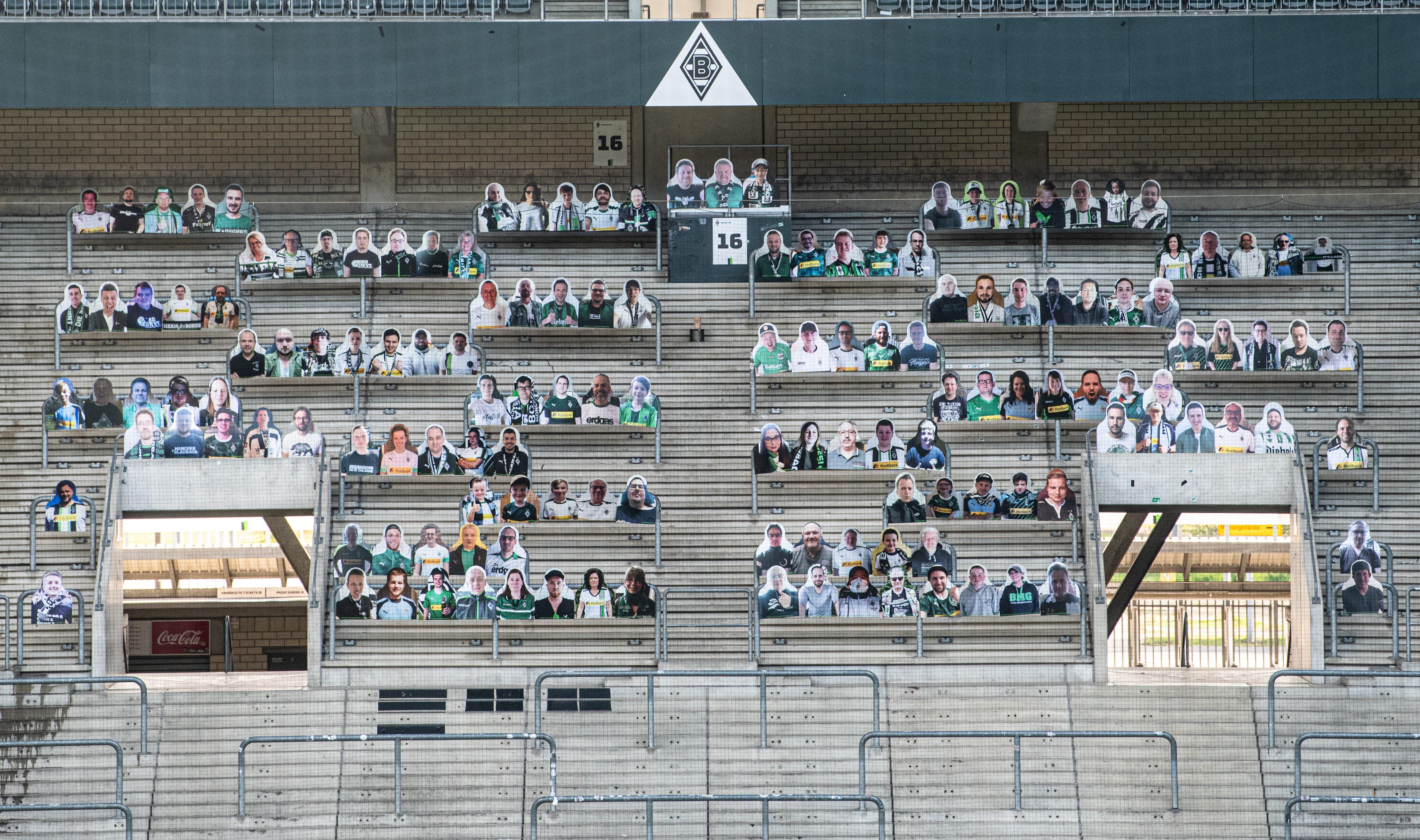 GettyImages fani fotbal borussia stadion germania pandemie