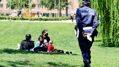 Coronavirus Milano, Fase 2: controlli nei parchi pubblici