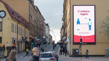 Coronavirus outbreak, Stockholm, Sweden - 29 Apr 2020