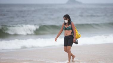 A Day in Rio de Janeiro as the City Begins to Shut Down