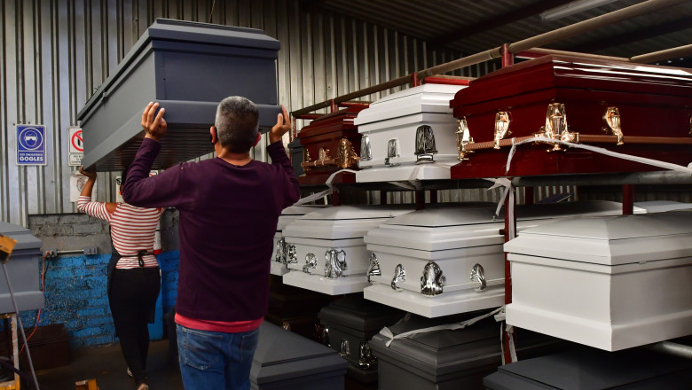 Mexican casket makers face demand for caskets and black market in pandemic