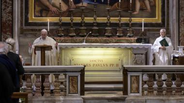 papa Francisc liturghie la Vatican