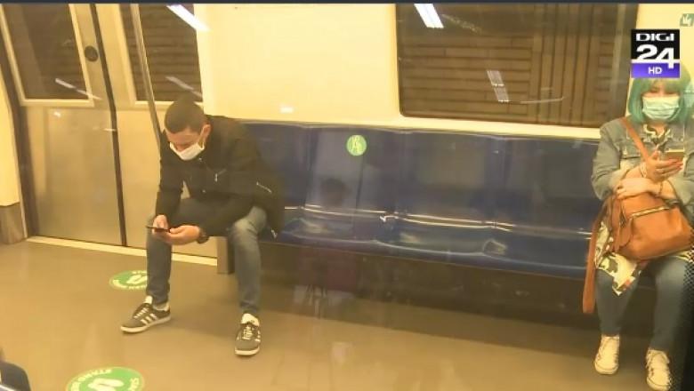 marcaje distanta metrou
