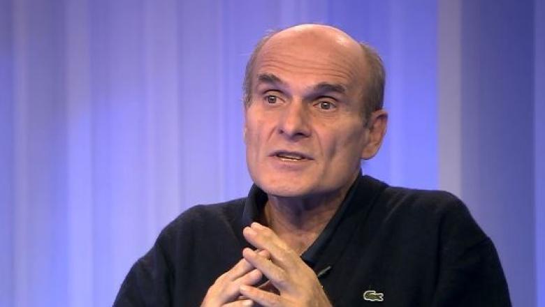 Cristian Tudor Popescu în studioul Digi24