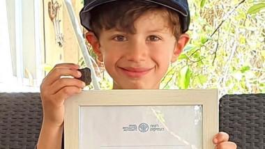 Descoperirea întâmplătoare făcută de un băiat de 6 ani care va ajuta investigațiile privind istoria ținutului Canaan