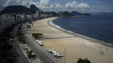 A Day in Rio de Janeiro as the City Begins to Shut Down