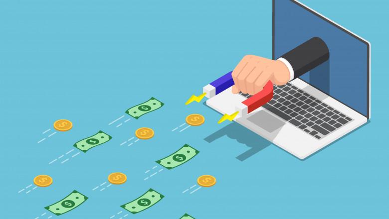 GettyImages frauda bani internet laptop anunturi frauduloase