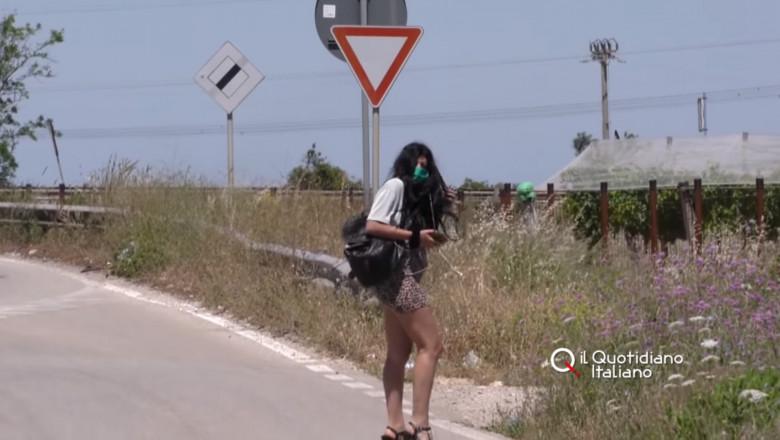 VIDEO. Prostituatele românce din Italia au ieșit la muncă cu măști, gel dezinfectant și termoscanere