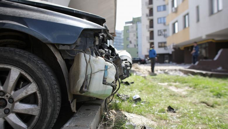 masini RCA accident INQUAM Ganea