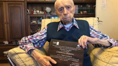 dumitru comanescu, cel mai bătrân bărbat din lume
