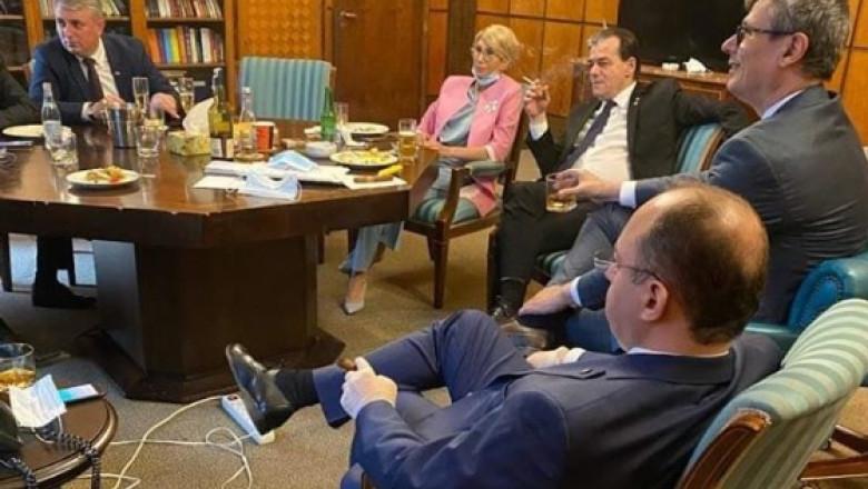 orban ministri fumand alcool