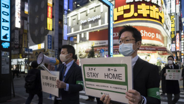 Tokyo Shut Nightlife Businesses To Contain Spread Of The Coronavirus