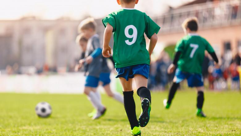 getty copii fotbal