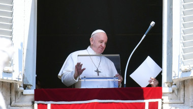 profimedia papa francisc discurs balcon