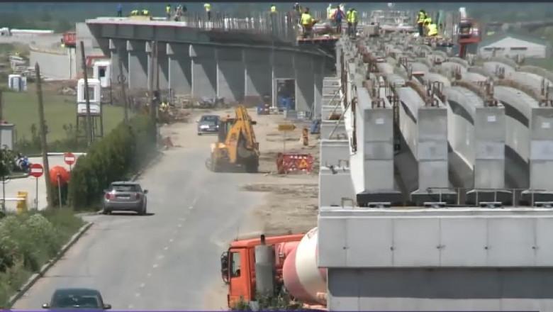 pod feroviar constructie otopeni