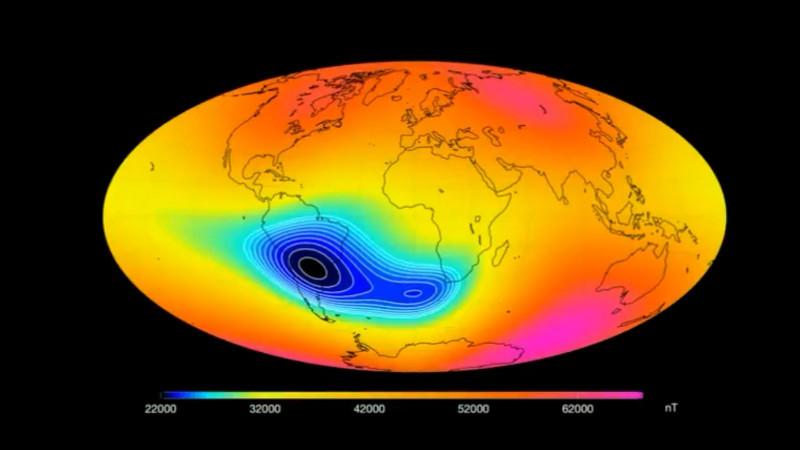 anomalia sud atlantic - skynews