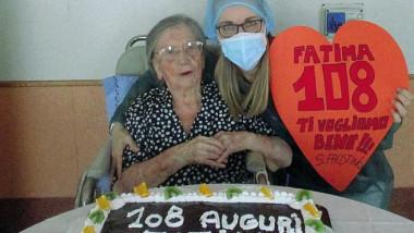italiancă de 108 ani vindecată de coronavirus