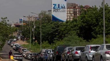 Fuel crisis in Venezuela