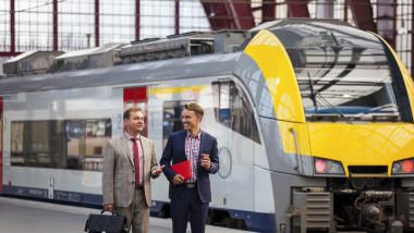 tren in belgia