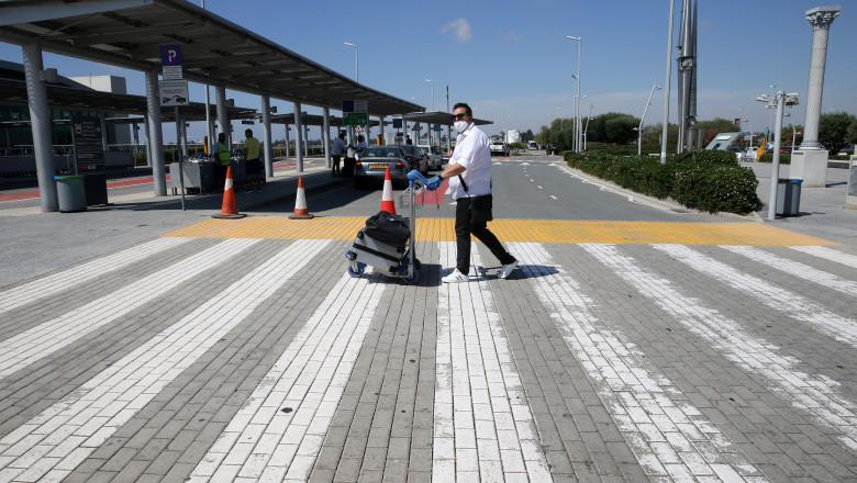 Ciprul a primit primii turişti după ce frontierele sale au fost închise aproape trei luni