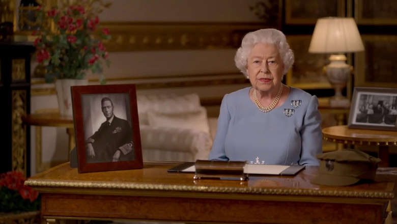 The Queen Pays Tribute to her Father in 75th VE Day Anniversary Speech
