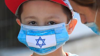 elev masca israel scoala coronavirus